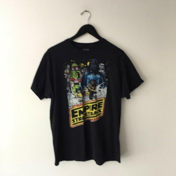 Star Wars Empire Strikes Back T Shirt Sci-Fi Tee L
